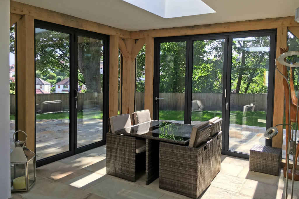 Aluminium Bifold Doors Made To Measure | Marlin Windows Yorkshire