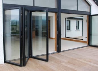 Smart visolfold 3000 slide and fold doors