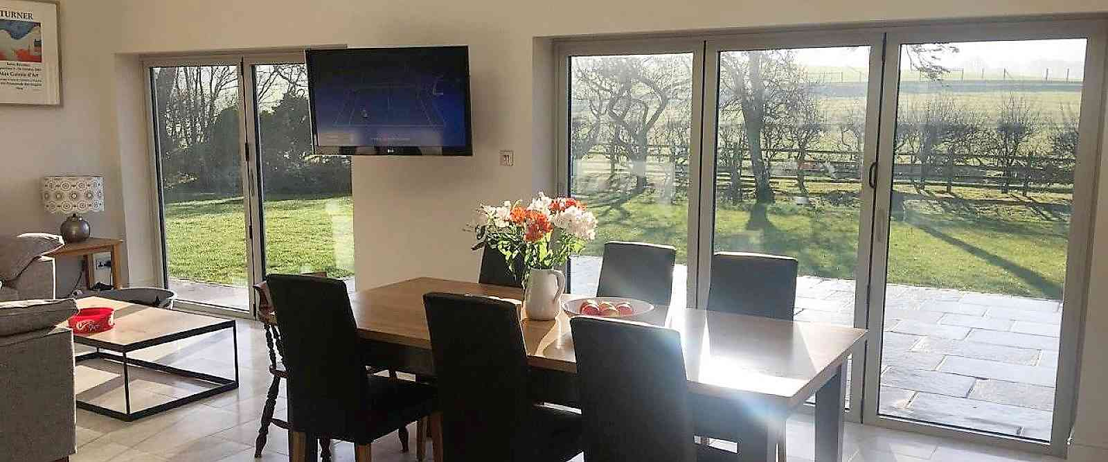 Light Fills This Room In Skipton Where Aluminium Bi Fold Doors Were Installed By Marlin