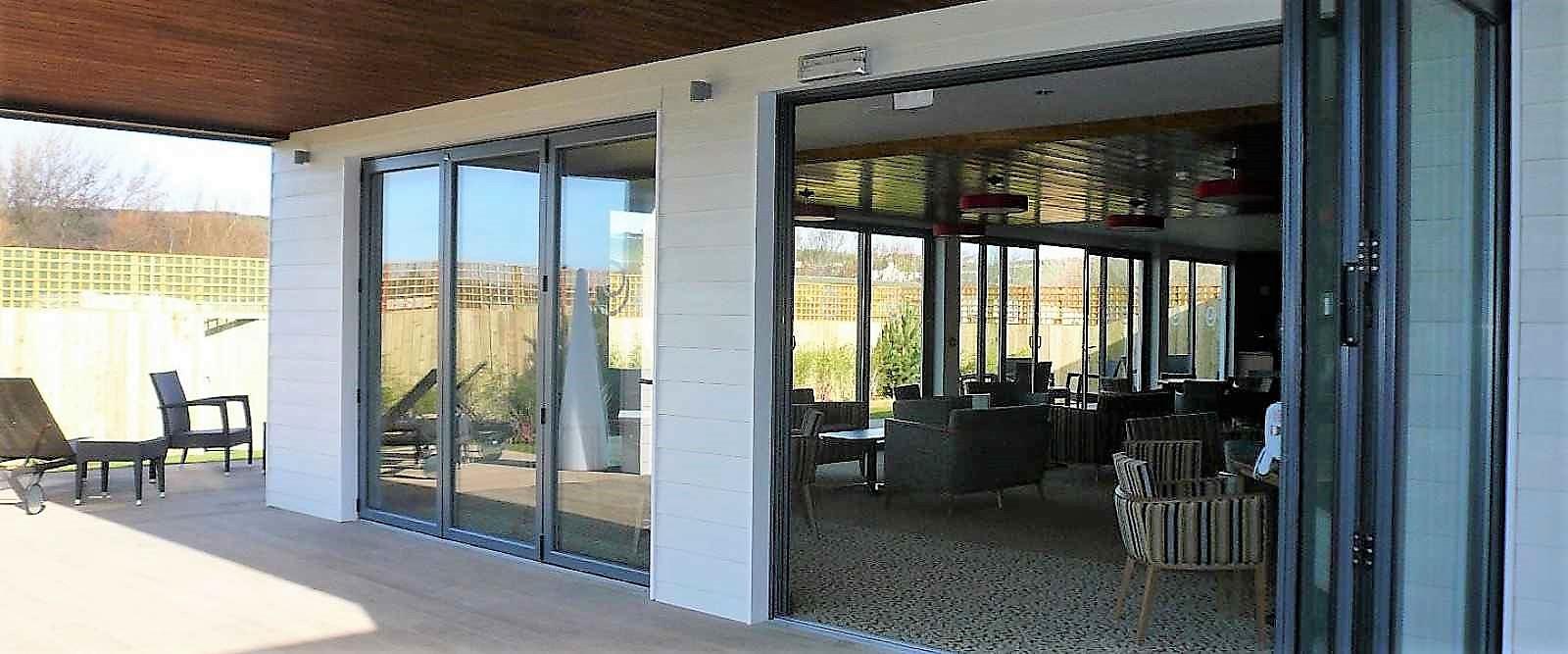 Visofold 3000 Aluminium Bi Folding Doors Marlin Windows Keighley