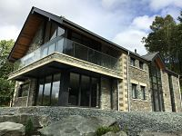 Cumbria Curtain Wall Glass Feature Installation