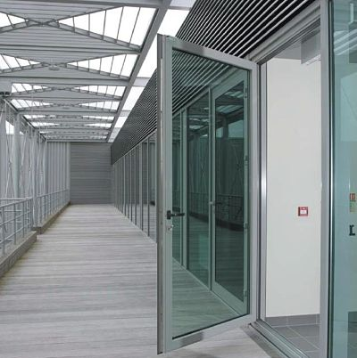 Commercial application of Visoline Commercial Aluminium Doors