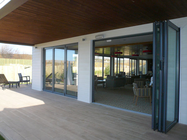 Low Amp Flush Threshold Aluminium Sliding Doors Marlin