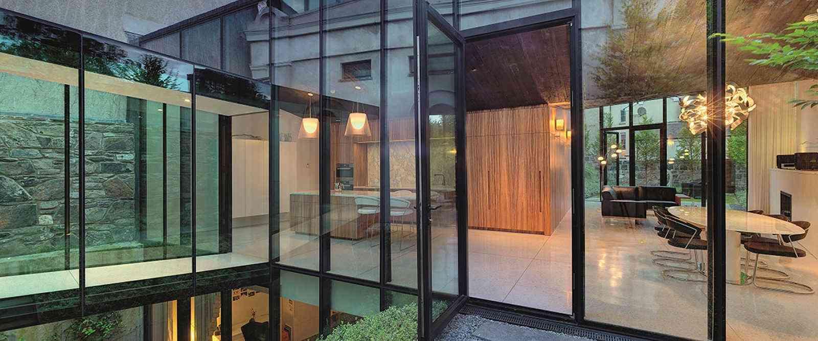 Raynaers Cs104 Aluminium Entrance Doors Marlin Windows Keighley