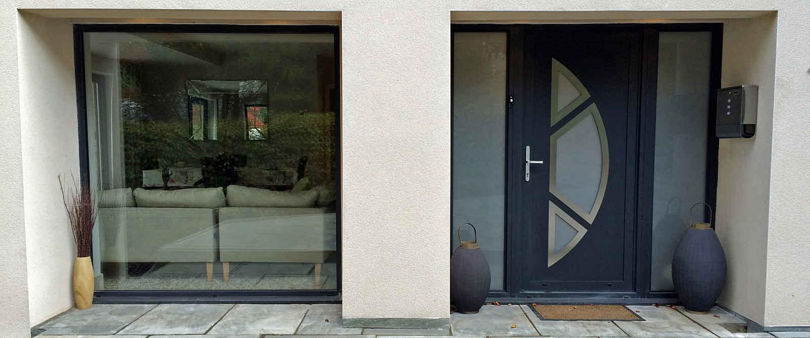 Aluminium Front Doors | Marlin Windows Keighley Yorkshire