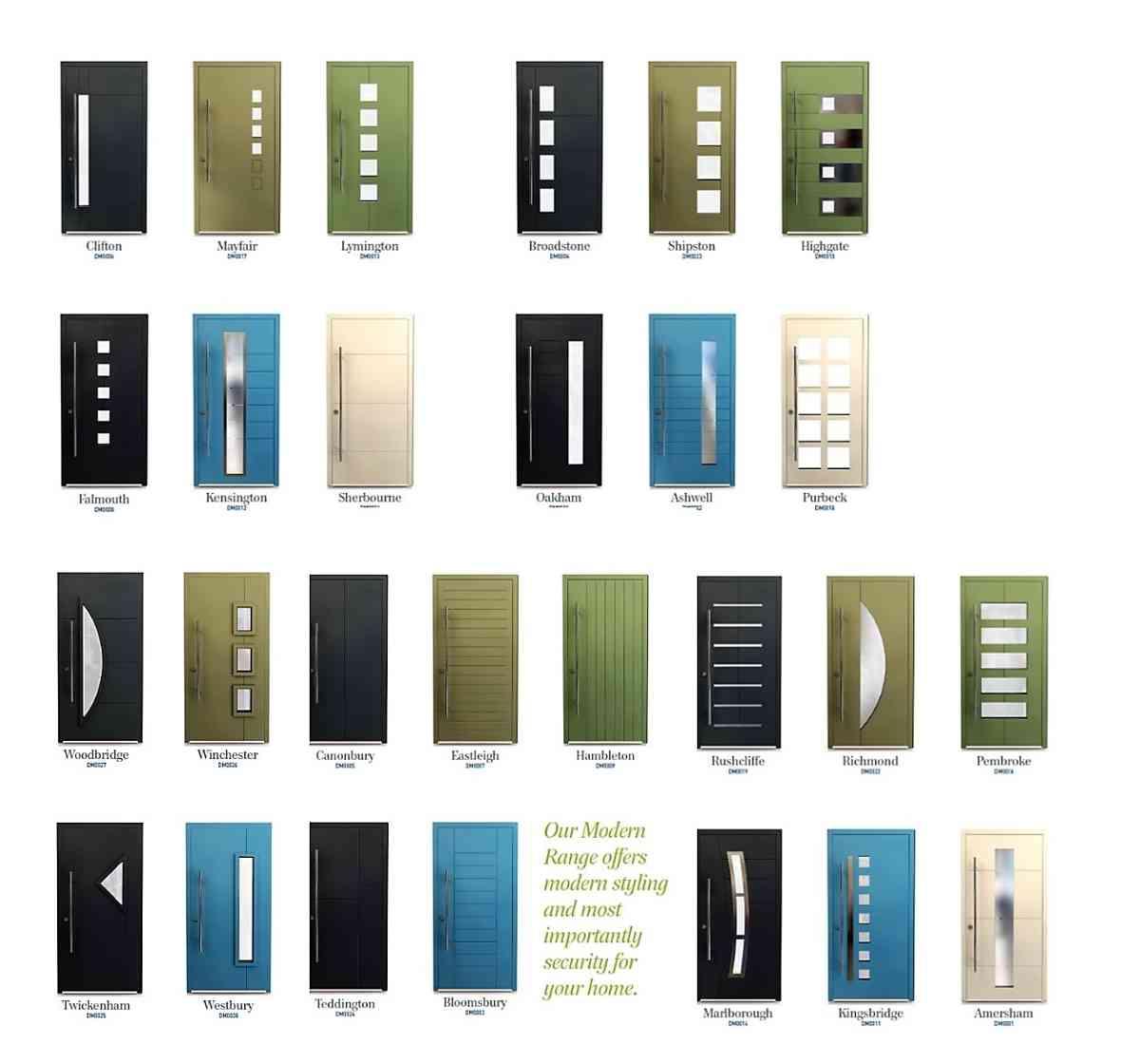 Smart Designer Doors