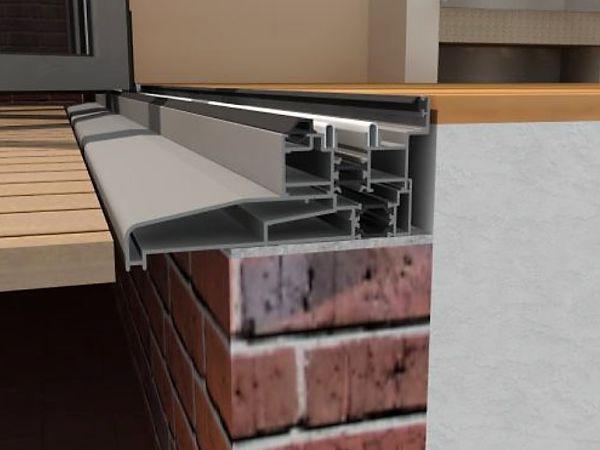 Low Flush Threshold Aluminium Sliding Doors Marlin Windows Yorkshire