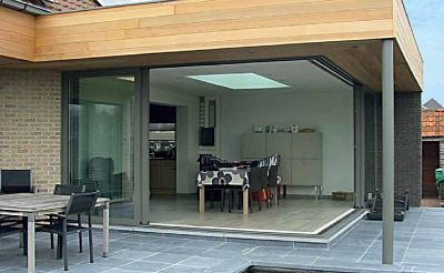 Reynaers cp130 patio sliding doors marlin windows keighley raynaers cp130 corner sliding patio door planetlyrics Images
