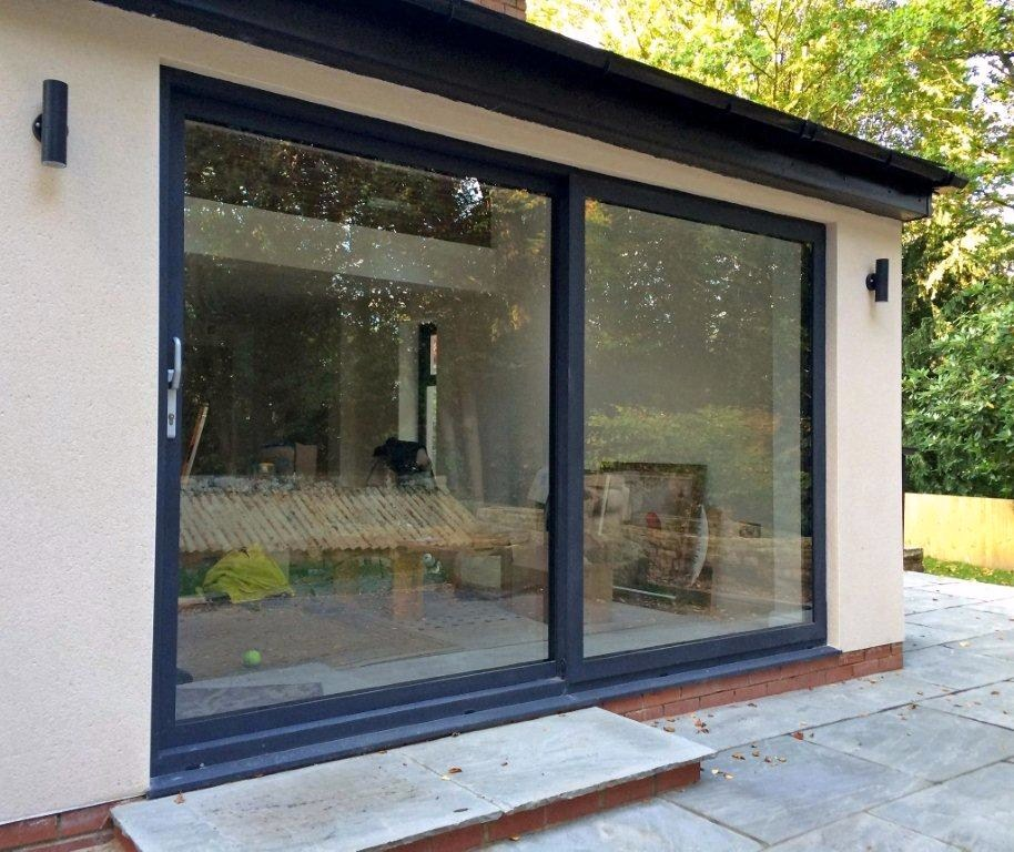 Aluminium windows and doors ilkley marlin windows for Outdoor sliding doors