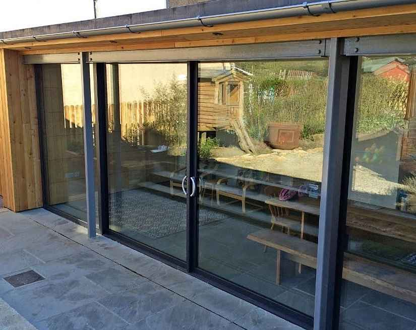 Sliding patio doors skipton marlin windows for Aluminium sliding patio doors