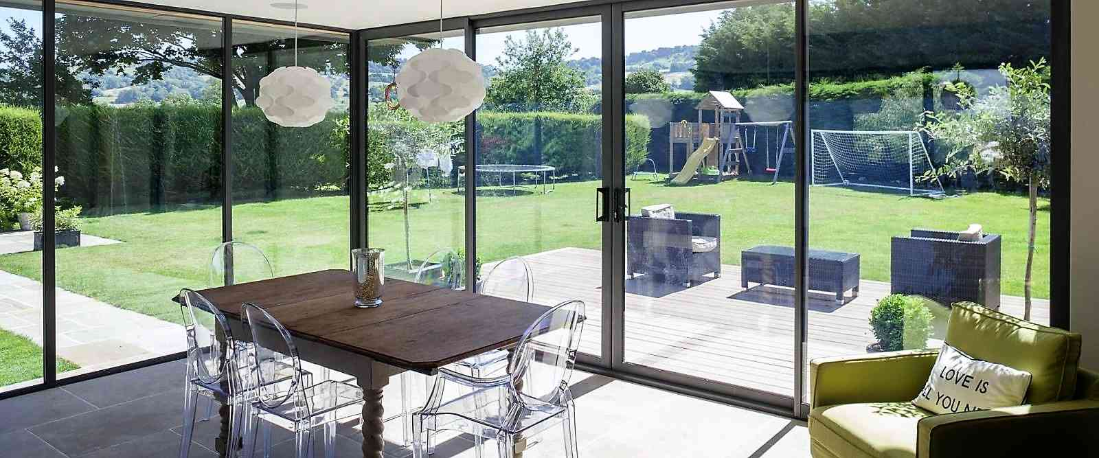 Aluminium Sliding Patio Doors Marlin Windows Yorkshire