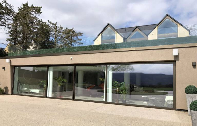visoglide plus sliding patio doors at Ilkley property Yorkshire