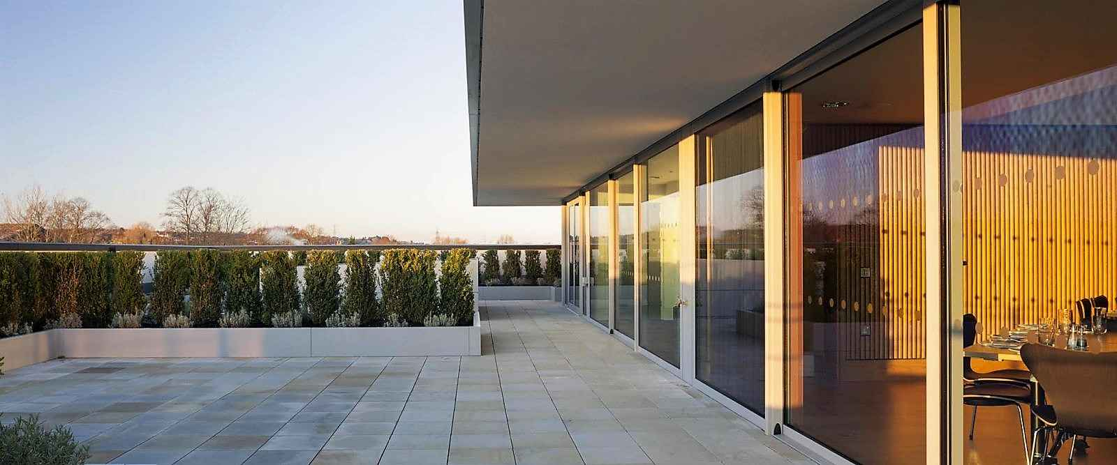 Commercial Aluminium Glass Wall Windows