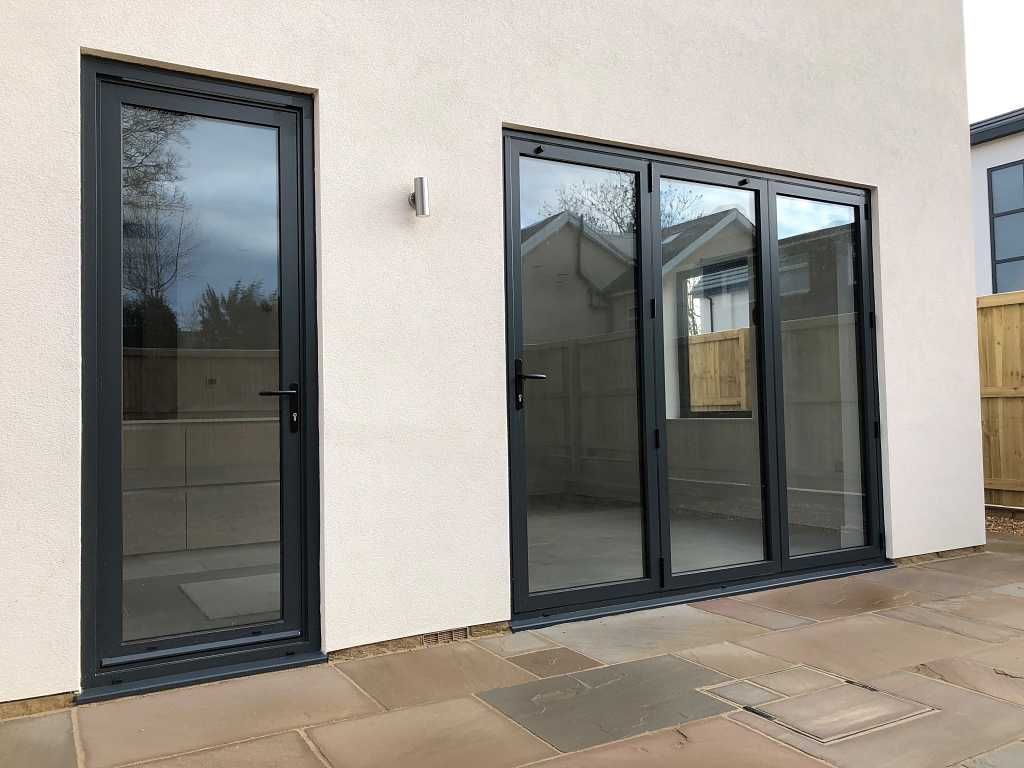 Eco Futural windows and residential doors installed in one of three properties in Leeds