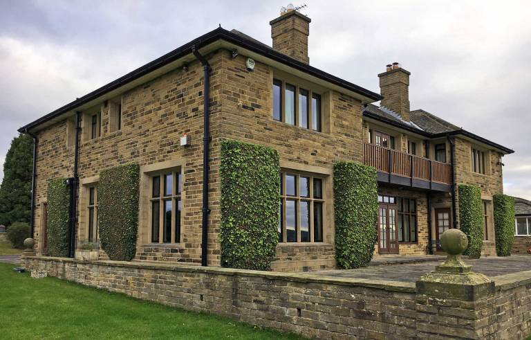 Thermally efficient Smart Alitherm Heritage aluminium windows replaces steel crittal windows at Harrogate Manor House in North Yorkshire.