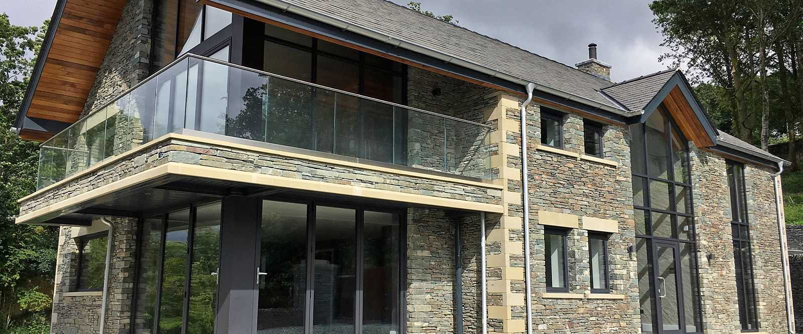 Curtain wall residential commercial glazing marlin for Residential window walls