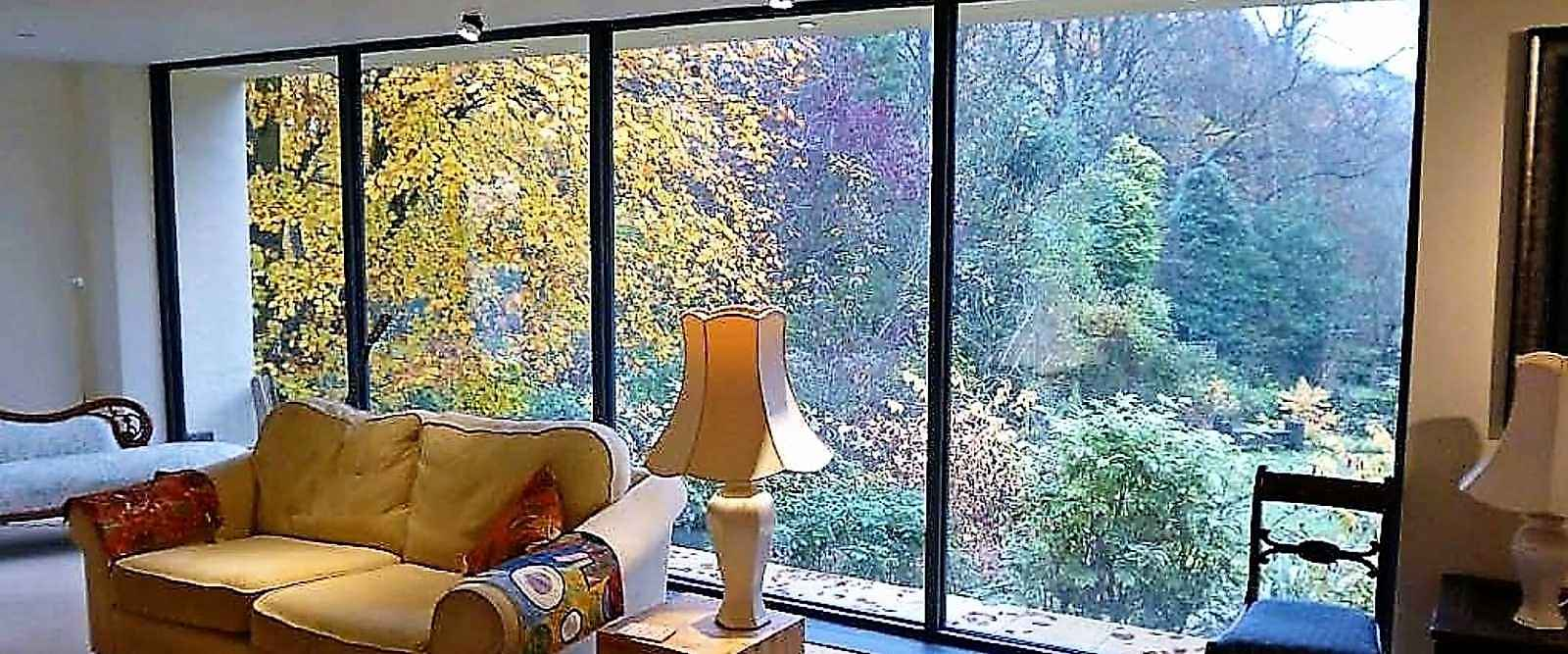 photo systems engineered c t w gallery curtain glazing hybrid wall