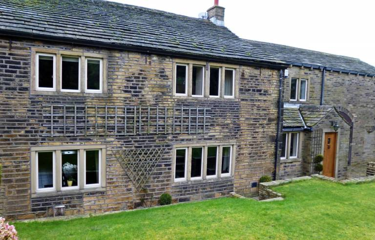 Smart Alitherm Heritage aluminium windows for grade 2 listed building in Halifax.