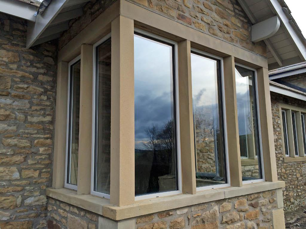 The Alitherm Heritage Window Installed at grade II listed old school house in Skipton