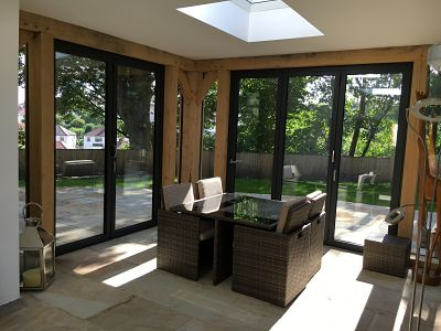 bi-fold doors - click for more pictures