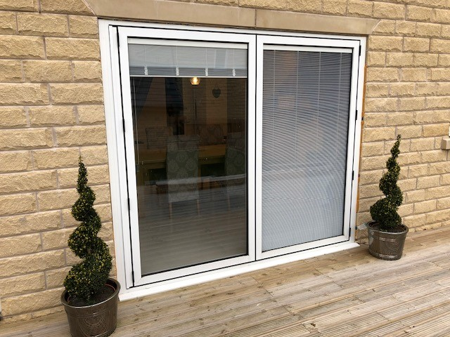 Built In Integral Blinds Sliding Bi Fold Doors Marlin