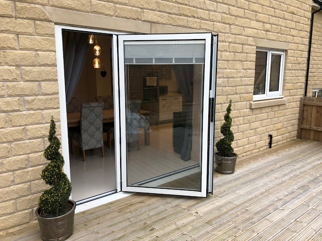 Built In Integral Blinds Sliding Bi Fold Doors Marlin Windows