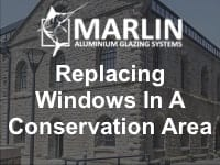 Guide to replacing windows in a conservation area